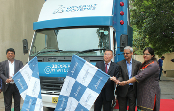 3DEXPERIENCE ON WHEELS roadshow launched to connect with manufacturing hubs in South & West India