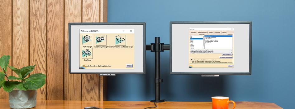Customizing Toolbars and Start Menu in CATIA V5-banner