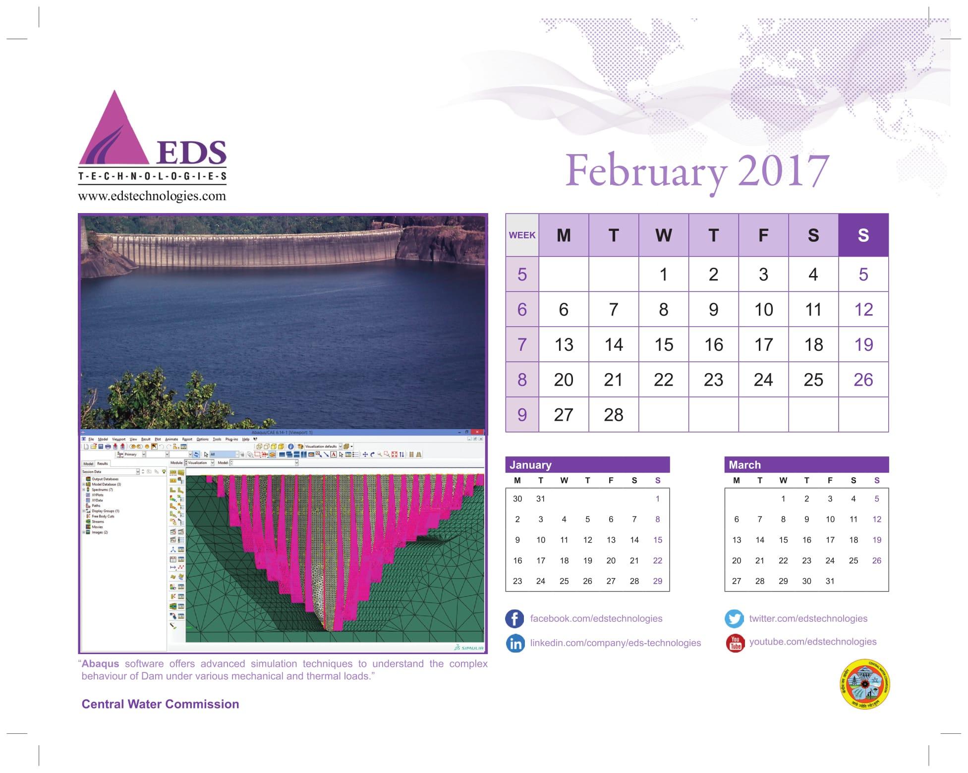 Calendars – EDS Technologies